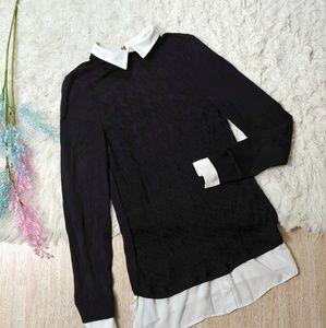 White House Black Market Layered Sweater